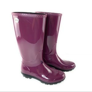 Purple Ugg Rain Boots